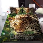 A Leopard In The Jungle Bedding Set PBUO YUY BUBL