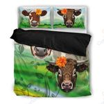 Cow Lover Farm Themed Bedding Set PBZF YUY BUBL