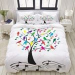 Music Tree With Notes Bedding Set PBQR YUY BUBL