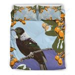 New Zealand Tui Bird On Branch Bedding Set PAJF YUY BUBL