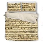 Sheet Music Bedding Set PCWP YUY BUBL