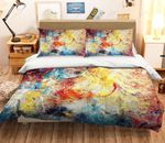 Abstract Color Painting Bedding Set PBJK YUY BUBL