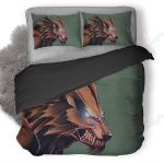 Wolves Angry Bedding Set PCJP YUY BUBL