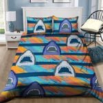 Blue Shark Bedding Set PBIY YUY BUBL