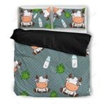 Cow Lover Themed Bedding Set PCCL YUY BUBL