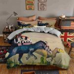 Cute Dinosaur Painting Bedding Set PCGG YUY BUBL