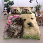 Golden Retriever Sand Kitty Bedding Set PBCI YUY BUBL