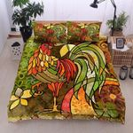 Chicken Color Painting Bedding Set PBMS YUY BUBL