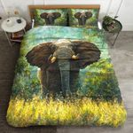 Elephant Painting Bedding Set PALL YUY BUBL