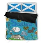Scotland Bedding Set PADP YUY BUBL