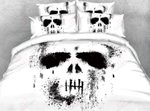 A Skull In Black And White Ink D Bedding Set PAAU YUY BUBL