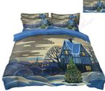 Christmas House Cloud Bedding Set PAVD YUY BUBL