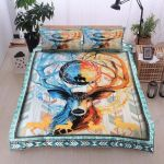 Deer Ice And Fire Bedding Set PCTR YUY BUBL