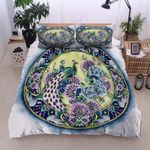 Peacock Flower Color Bedding Set PBYF YUY BUBL