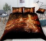Music Note Violin Glowing Sparks Bedding Set PBBL YUY BUBL