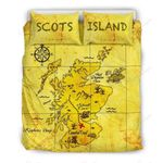 Scotland Scots Island Map Painting Bedding Set PCPM YUY BUBL