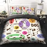 Yoga Dogs Bedding Set PASU YUY BUBL