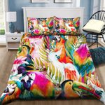 Parrots Colorful Bedding Set PBGZ YUY BUBL