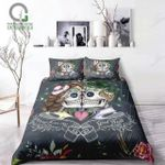 Digital Kissskull Couple Bedding Set PACY YUY BUBL