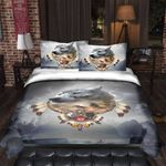 Wolve The Elder Warrior Bedding Set PANU YUY BUBL