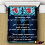 You Are Forever In My Heart Bedding Set PCKH YUY BUBL