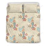 Mermaid Girl With Fish Print Bedding Set PAEQ YUY BUBL