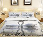 Lovers Swan Bedding Set PAQH YUY BUBL