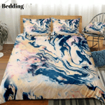 Marble Red Black Abstract Art Bedding Set PCYB YUY BUBL