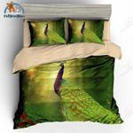 Green Peacock Collection Bedding Set PCUI YUY BUBL