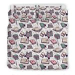 Library Librarian Book Lover Bedding Set PBZS YUY BUBL