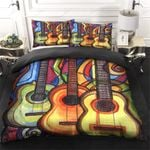 Guitar Drawing Color Bedding Set PCXE YUY BUBL