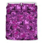 Dachshund Pink Camo For Lovers Of Dachshunds Bedding Set PBBE YUY BUBL