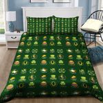 St Patricks Day Badge Label Collection Bedding Set PBRZ YUY BUBL
