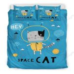 The Space Cat Bedding Set PAHQ YUY BUBL