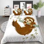 Sloth Cute Cartoon Bedding Set PCWH YUY BUBL