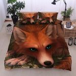Fox Green Eyes Bedding Set PCOE YUY BUBL