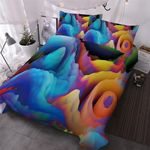Clash Of Fire Ice Bedding Set PCJU YUY BUBL
