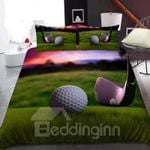 Golf Sport On The Grass Bedding Set PCRS YUY BUBL