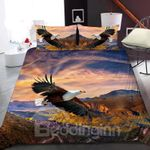 Eagles Soaring In The Valley Bedding Set PASM YUY BUBL