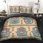 Yoga Hamsa Pattern Bedding Set PCVW YUY BUBL