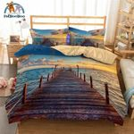 Wood Pier Bedding Set PCEV YUY BUBL