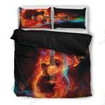 Guitar Music Lover Themed Bedding Set PBCD YUY BUBL