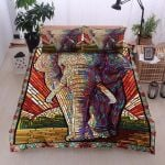 Elephant Dot Painting Bedding Set PCLQ YUY BUBL