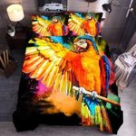 Parrot In Heart Bedding Set PATN YUY BUBL