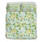 Yellow Plumeria Pretty Bedding Set PAXM YUY BUBL