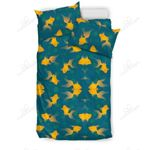 Yellow Fish Lots Bedding Set PCKS YUY BUBL