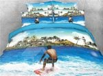Surfing On The Azure Sea Bedding Set PCPO YUY BUBL