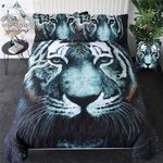 In The Darkness Tiger Bedding Set PCDS YUY BUBL