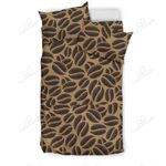Coffee Bean On Brown Background Bedding Set PCFR YUY BUBL