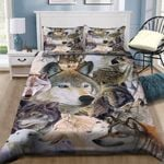 Wolf Pack Bedding Set PCIE YUY BUBL